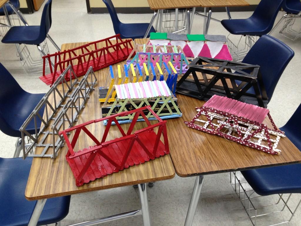 Ncs Stem Honors Pre Algebra Popsicle Bridge